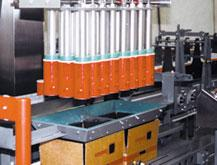 Robotic, pick-and-place case packing operation ensures gentle handling