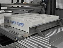 Palletizer features positive load transfer