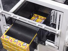 Easy to operate case packer