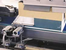 Precision tab slitting