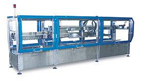 Ultra high speed case sealer achieves speeds to 100 cases per minute