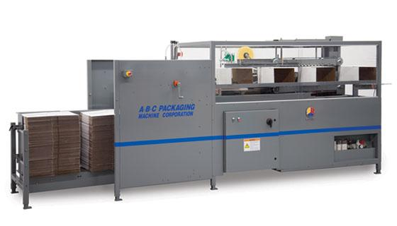 Tape box erector/ sealer 15-25 cpm