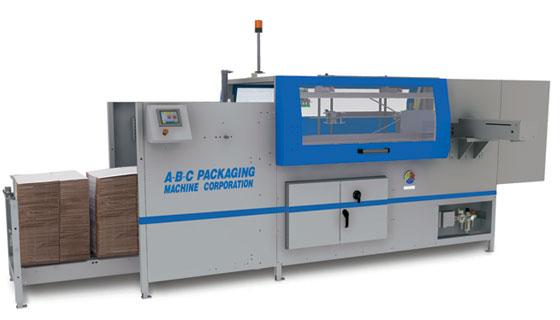 Adhesive case erector and bottom sealer 10-30 cpm