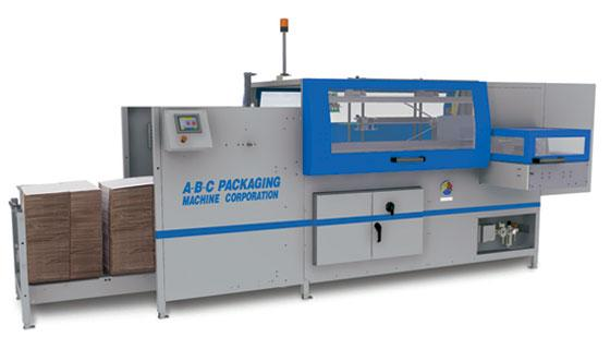 High speed adhesive case erector and bottom sealer