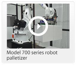 M700 robot palletizer
