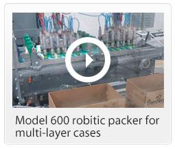 600vid robotic packer multi layer cases