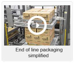 End of line packaging simplified